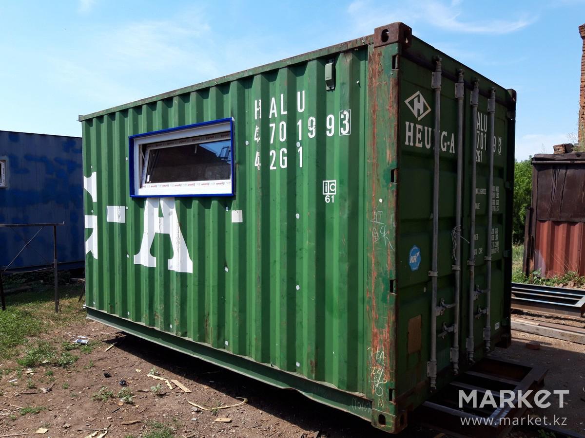 Баня из блок контейнера своими руками простое решение