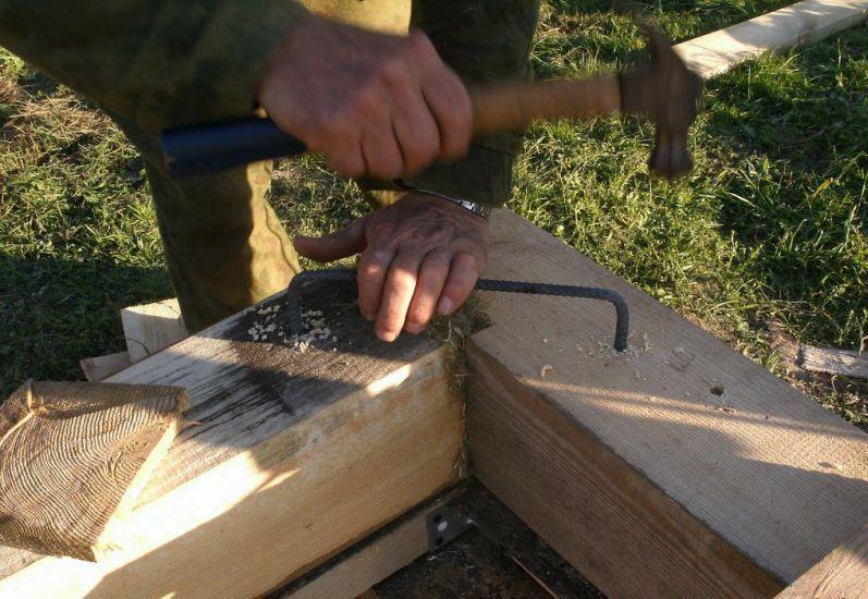 Чем обработать брус для бани, как класть правильно - разбор способов плотницкой укладки и обработки внутри и снаружи