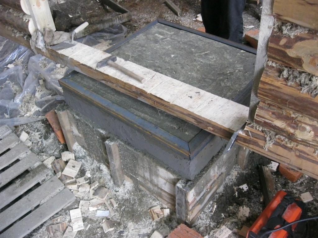Фундамент под печь в бане: пошаговая инструкция, советы, фото