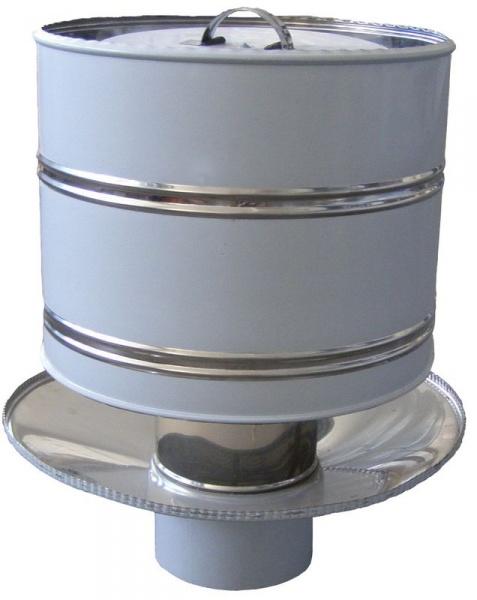 Искрогаситель на дымоходную трубу в бане