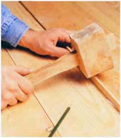 Заделка щелей в деревянном полу – 10 вариантов и способов