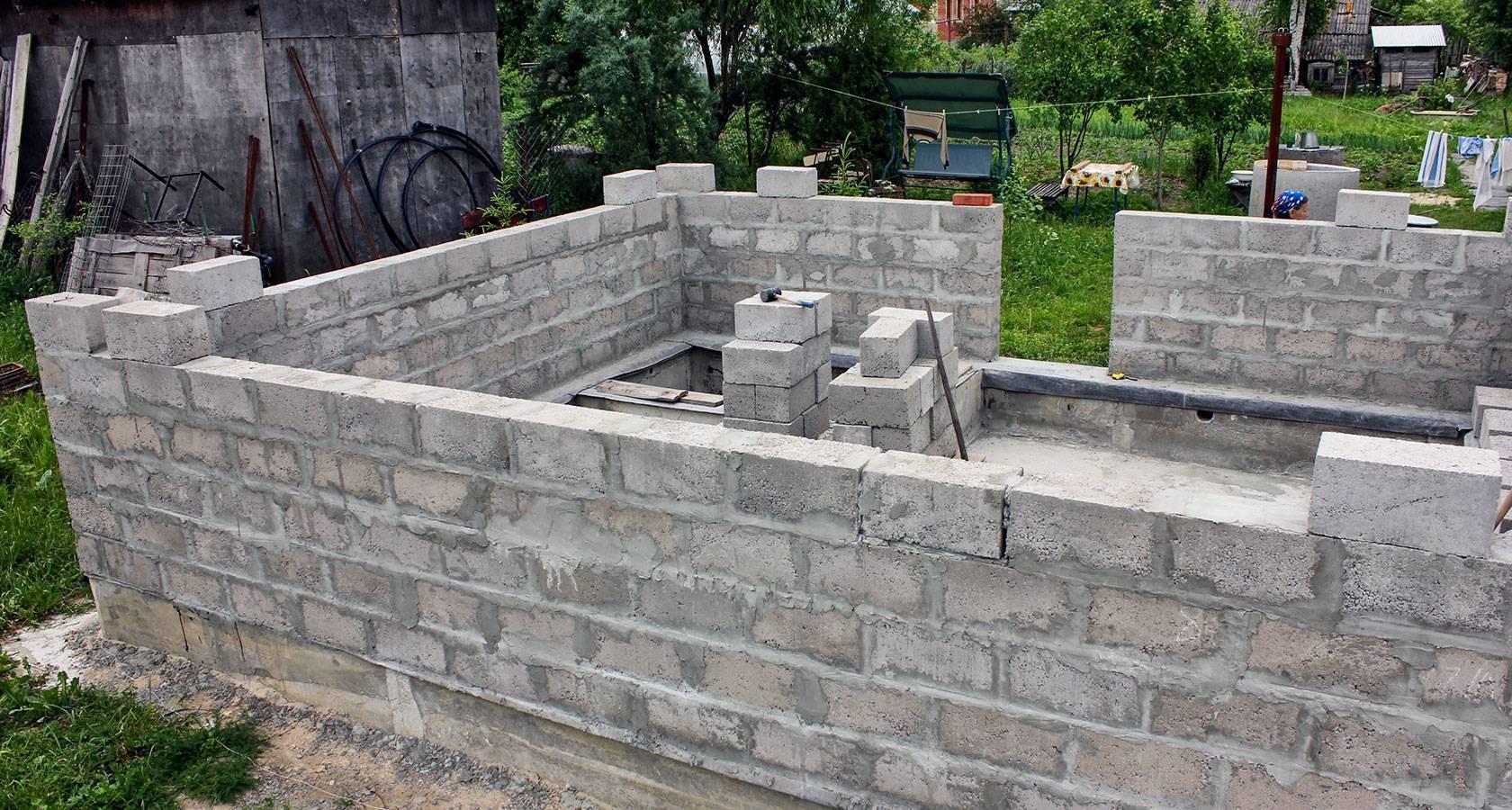 Баня из керамзитобетонных блоков: плюсы и минусы, отзывы владельцев, цены