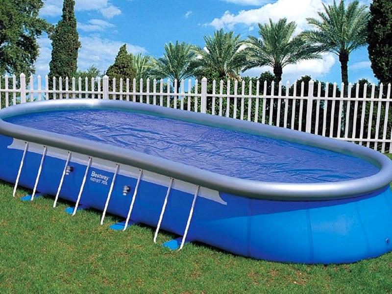 Какой бассейн лучше — каркасный или надувной?