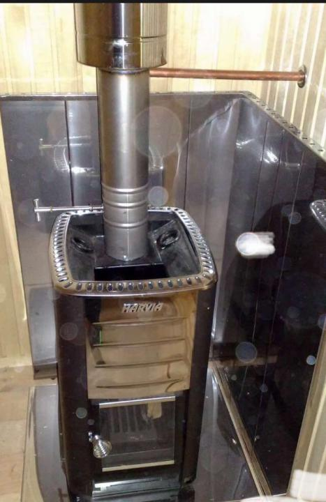 Как установить экран для металлической печи в бане?