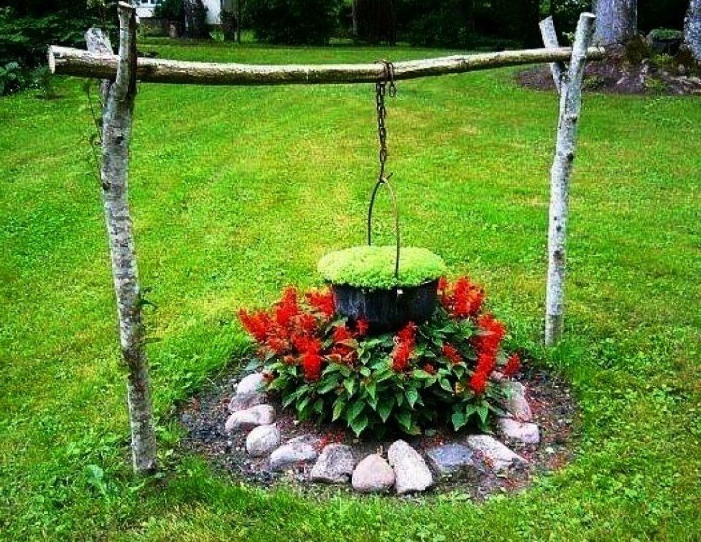 Как украсить дачный участок