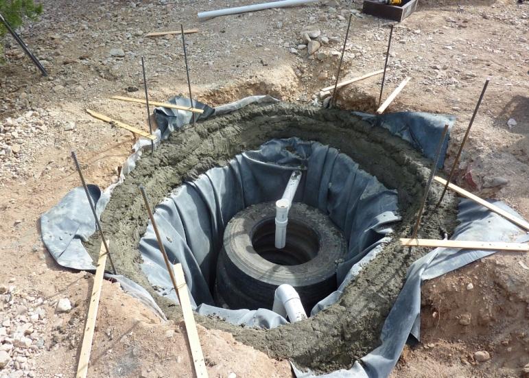 Как сделать сливную яму для бани своими руками