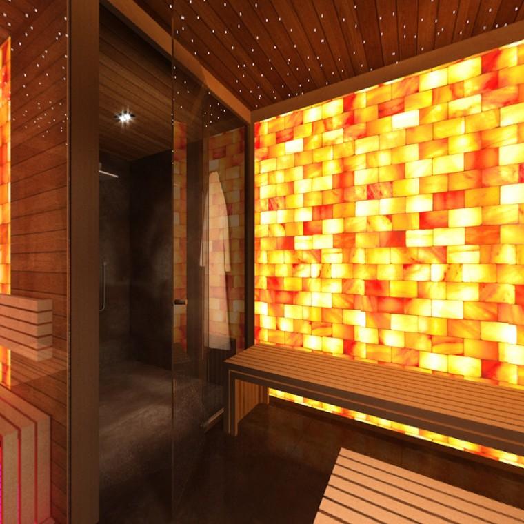 Несколько секретов дизайна соляной комнаты