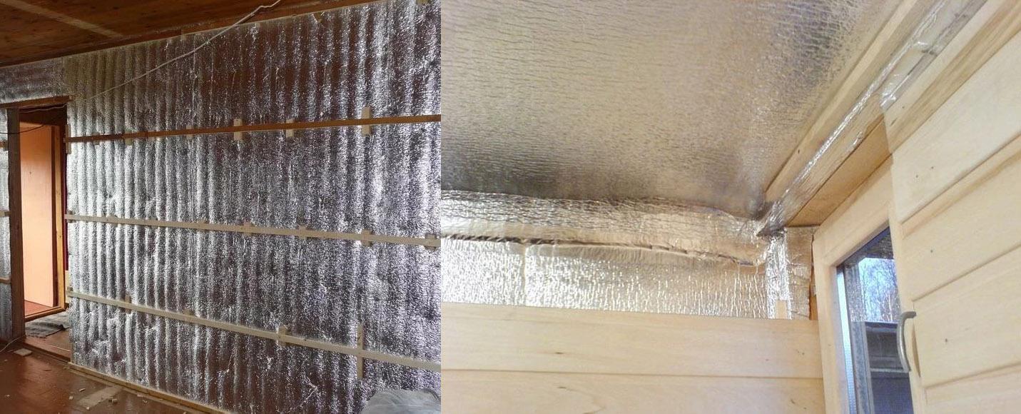 Выбор утеплителя для стен бани изнутри