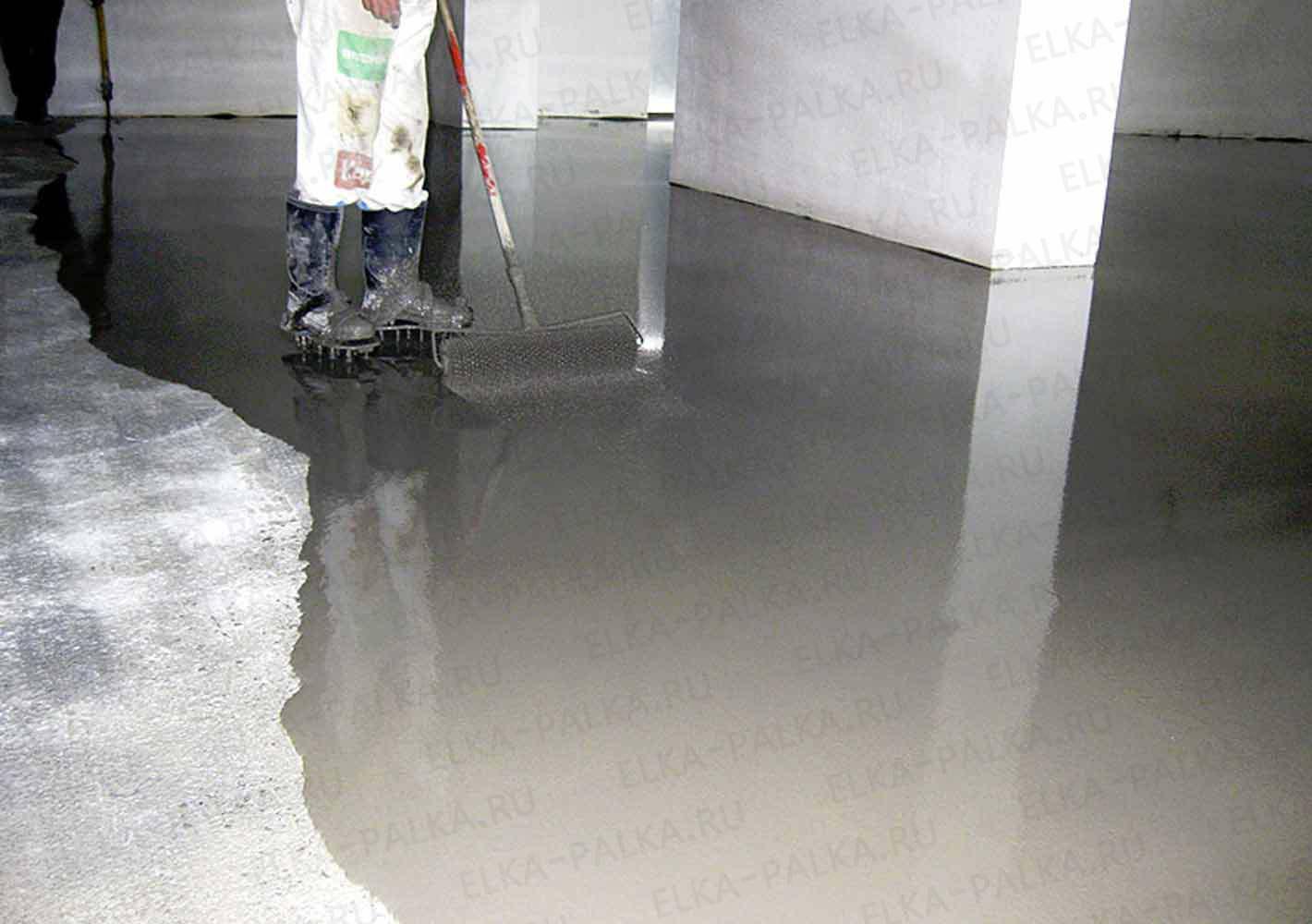 Методики железнения поверхностей из цемента и способы их реализации