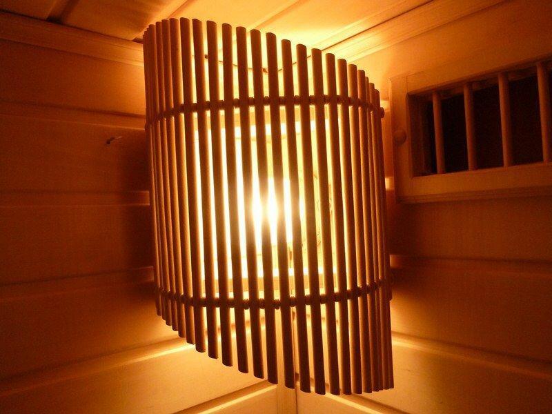 4 вида светильников для бани и сауны [+мастер-класс]