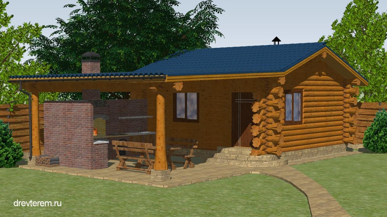 Проекты летних кухонь с фото: отдельно стоящие и примыкающие постройки
