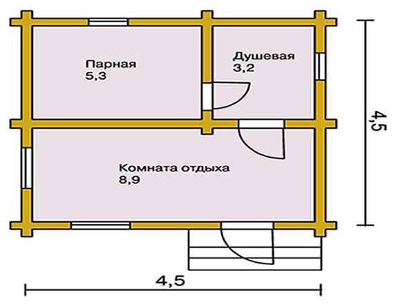 Баня из шпал своими руками – stroim24.info