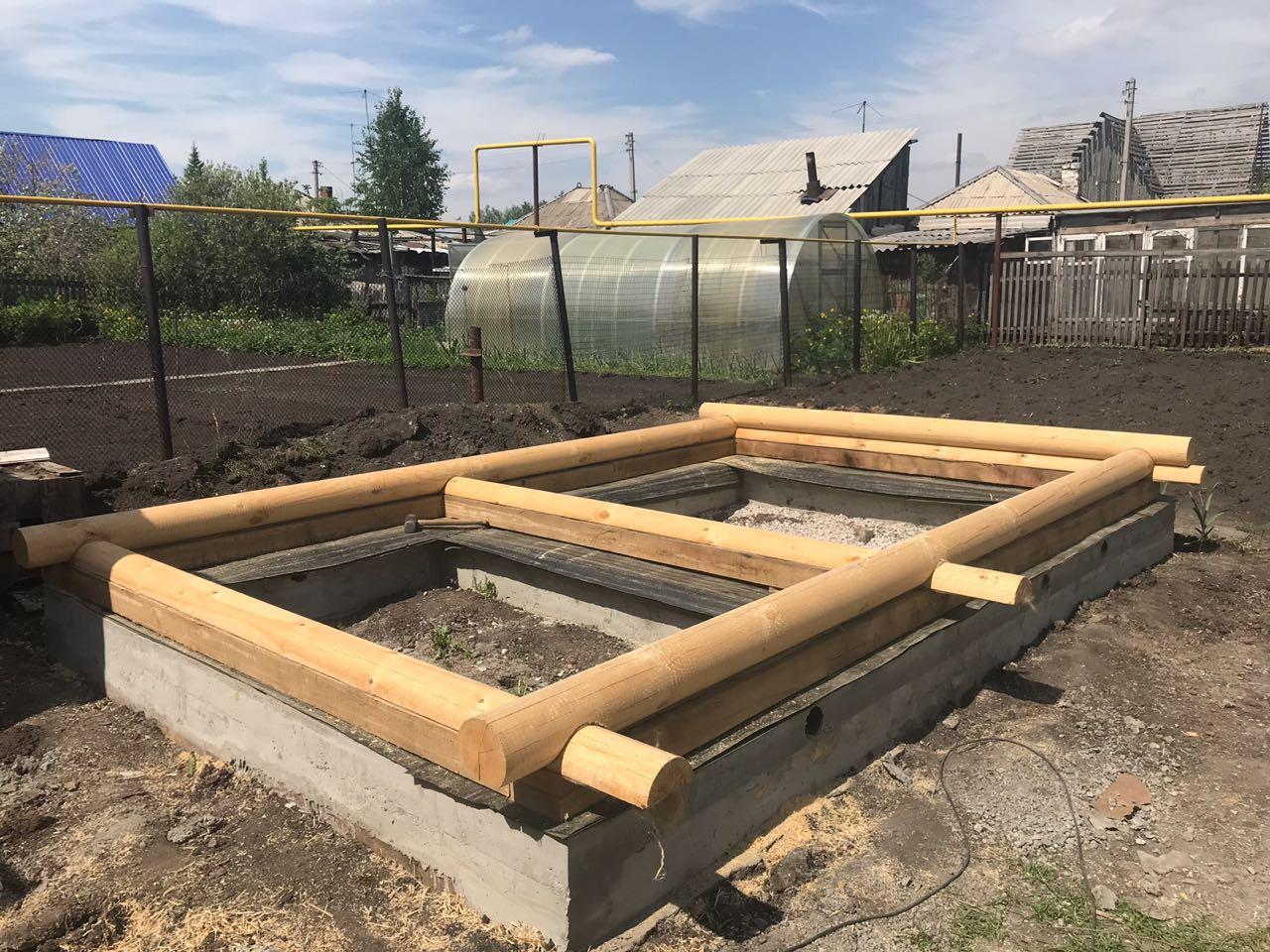 Как правильно залить фундамент под баню своими руками - подробная инструкция!