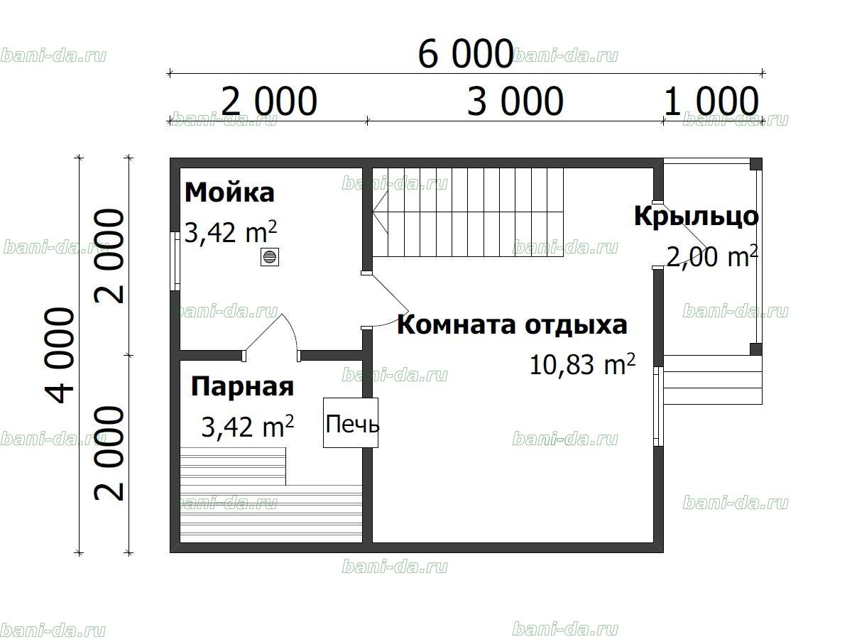 Проект бани 5х7 (32 фото): планировка бани с террасой, комнатой для отдыха и мансардой, обустройство бани 5 на 7 из сруба, бревна и газобетона внутри