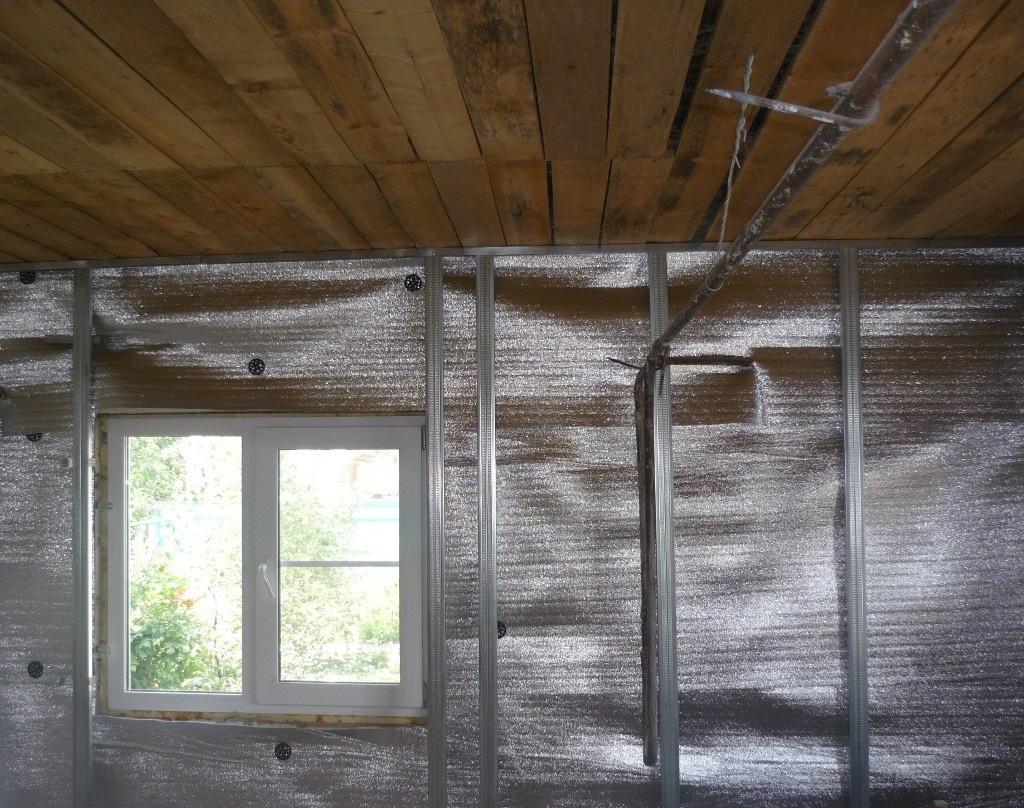 Утеплитель для бани на стены - изнутри, цена и какой лучше: фольгированный, минвата