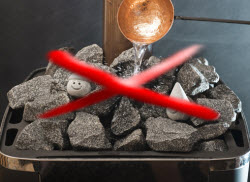 Как укладывать камни в банную печь правильно, чтобы обеспечить хороший пар