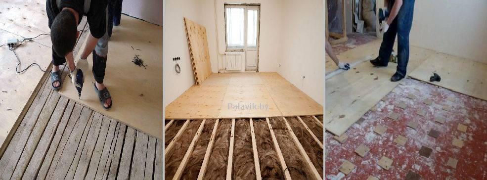 Как выровнять деревянный пол, не срывая старые доски - «строительство» » все о сауне