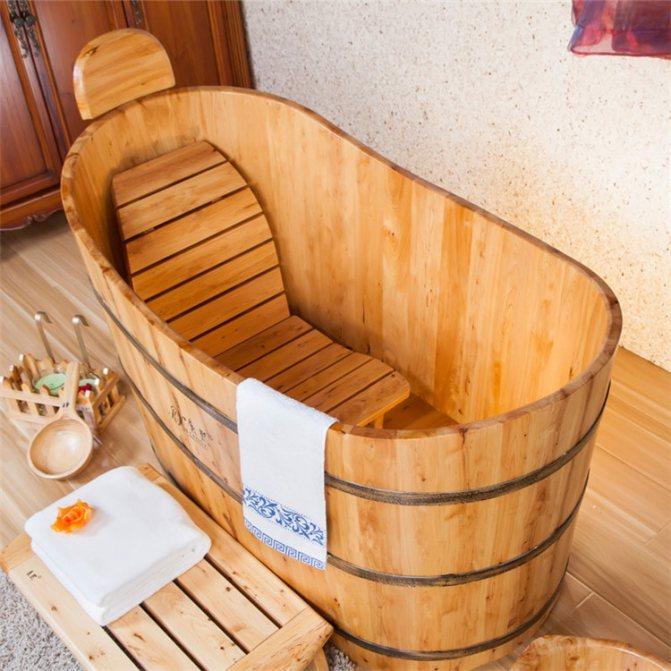 Деревянная купель для бани: в чём польза и преимущества?