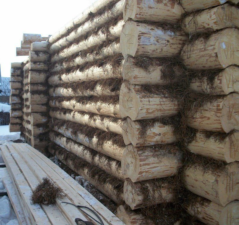 Утеплитель для бруса. основные виды уплотнителей. мох, лен, пакля и джут