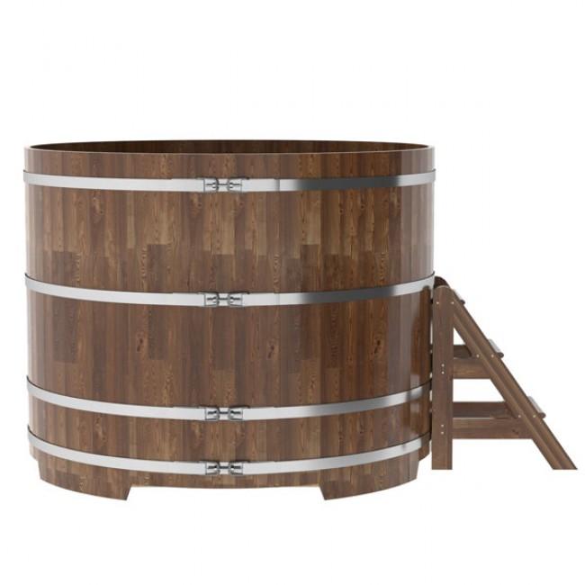 Деревянная купель для бани: разновидности, монтаж, стоимость