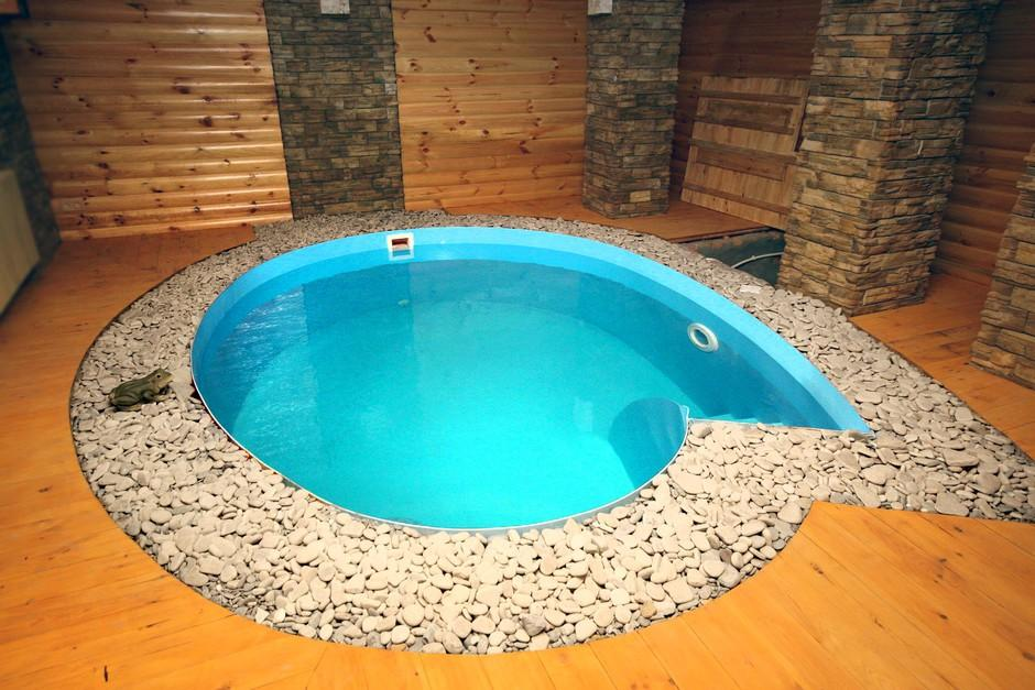 Бассейн в бане своими руками: как построить и сделать маленький мини бассейн, устройство небольшого бассейна из пластика в сауне