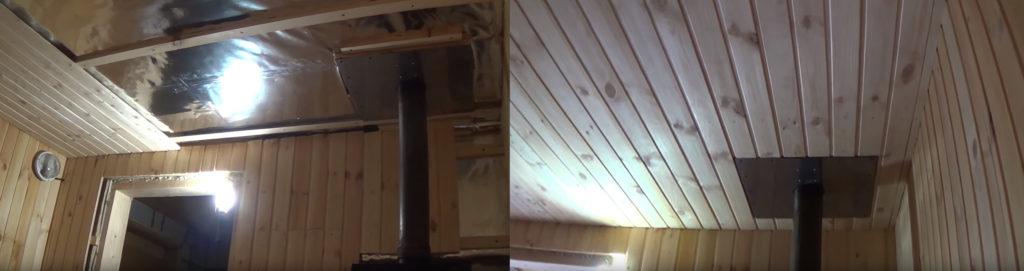 Как крепить вагонку в бане: технология, виды материала и крепежа