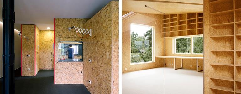 Особенности отделка дома из сип панелей: обои, покраска, плитка
