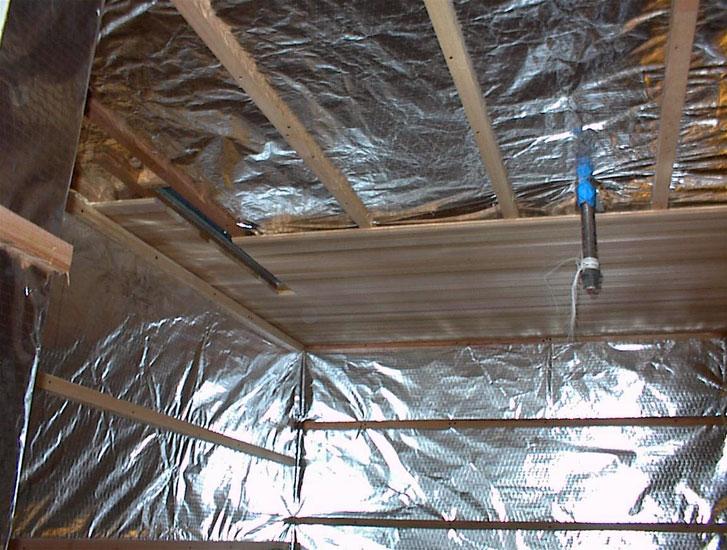 Чем утеплить потолок, пол и стены в бане
