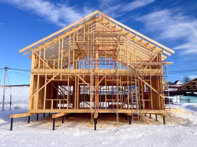 Стоимость каркасного дома под ключ за все этапы работ