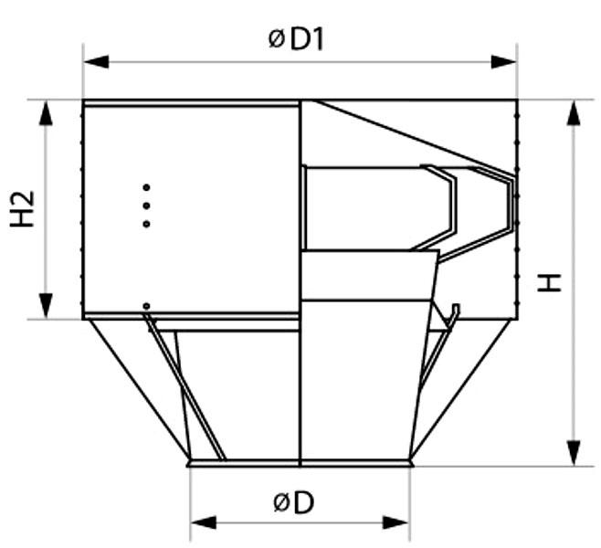 Дефлектор дымохода