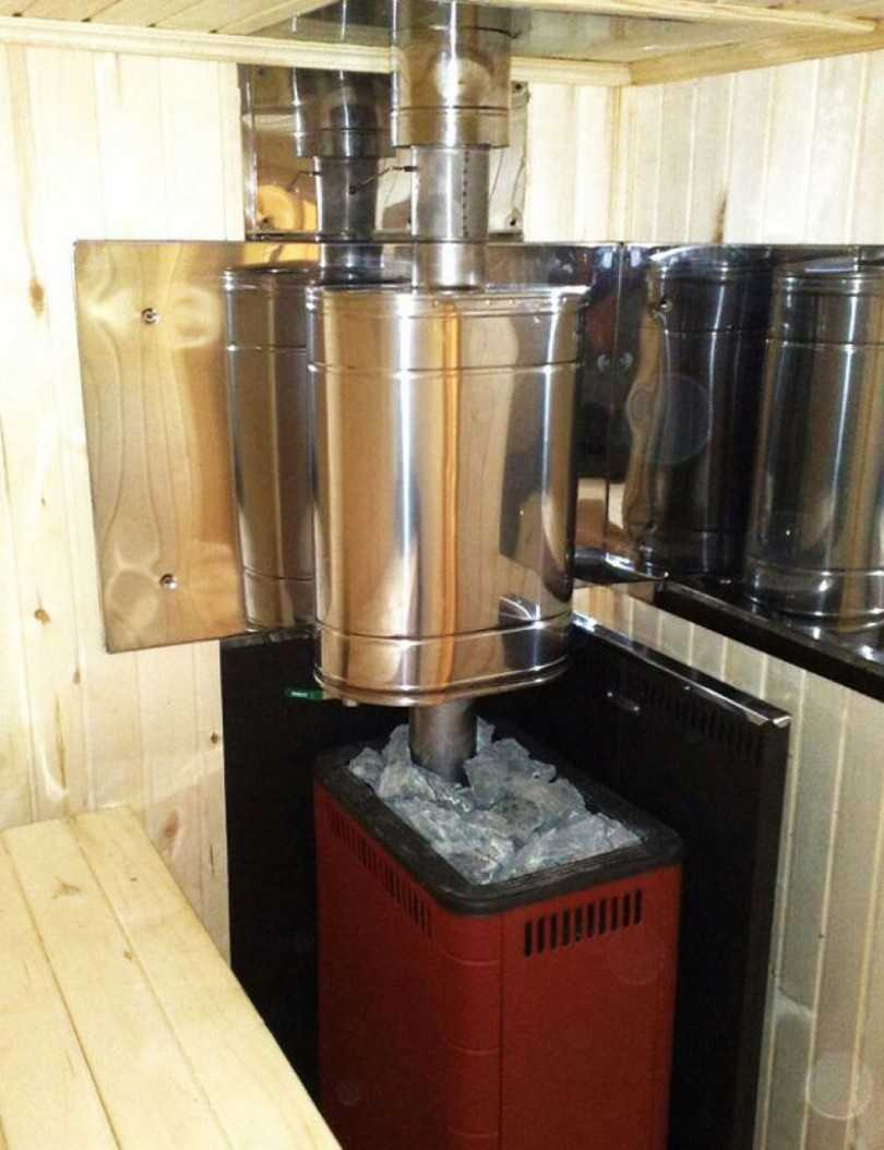 Печи для бань с баком для воды: особенности, виды, практические советы по выбору