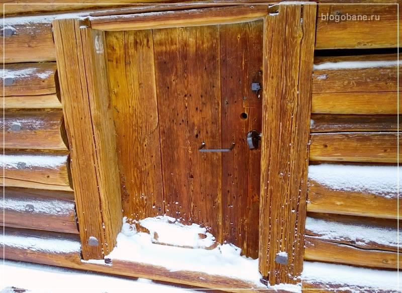 Как утеплить дверь в баню - все про самостоятельное утепление