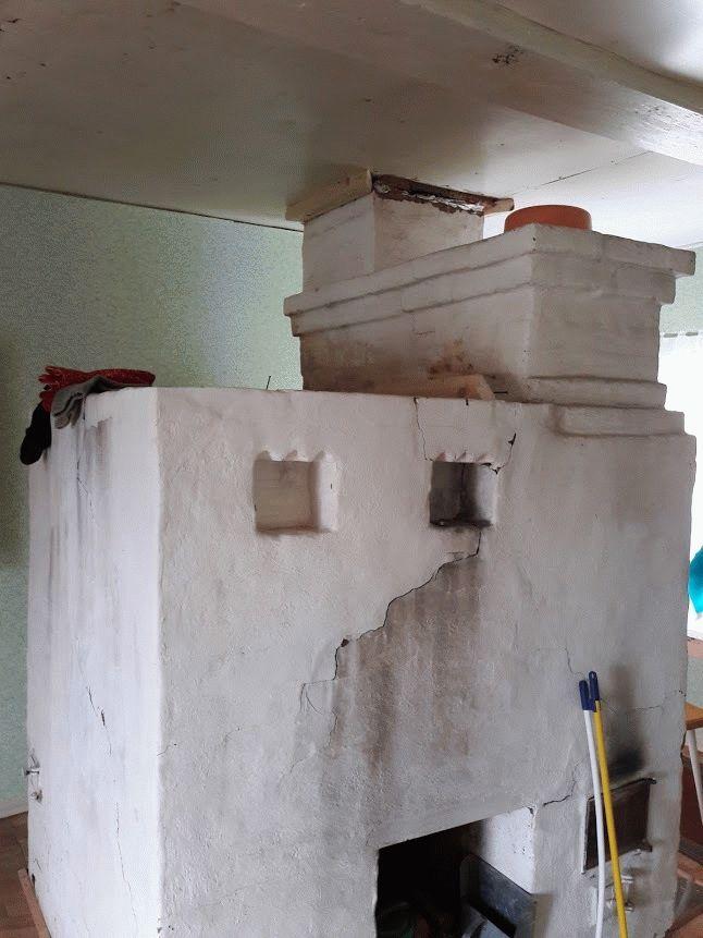Чем замазать печь, чтобы не трескалась: фото
