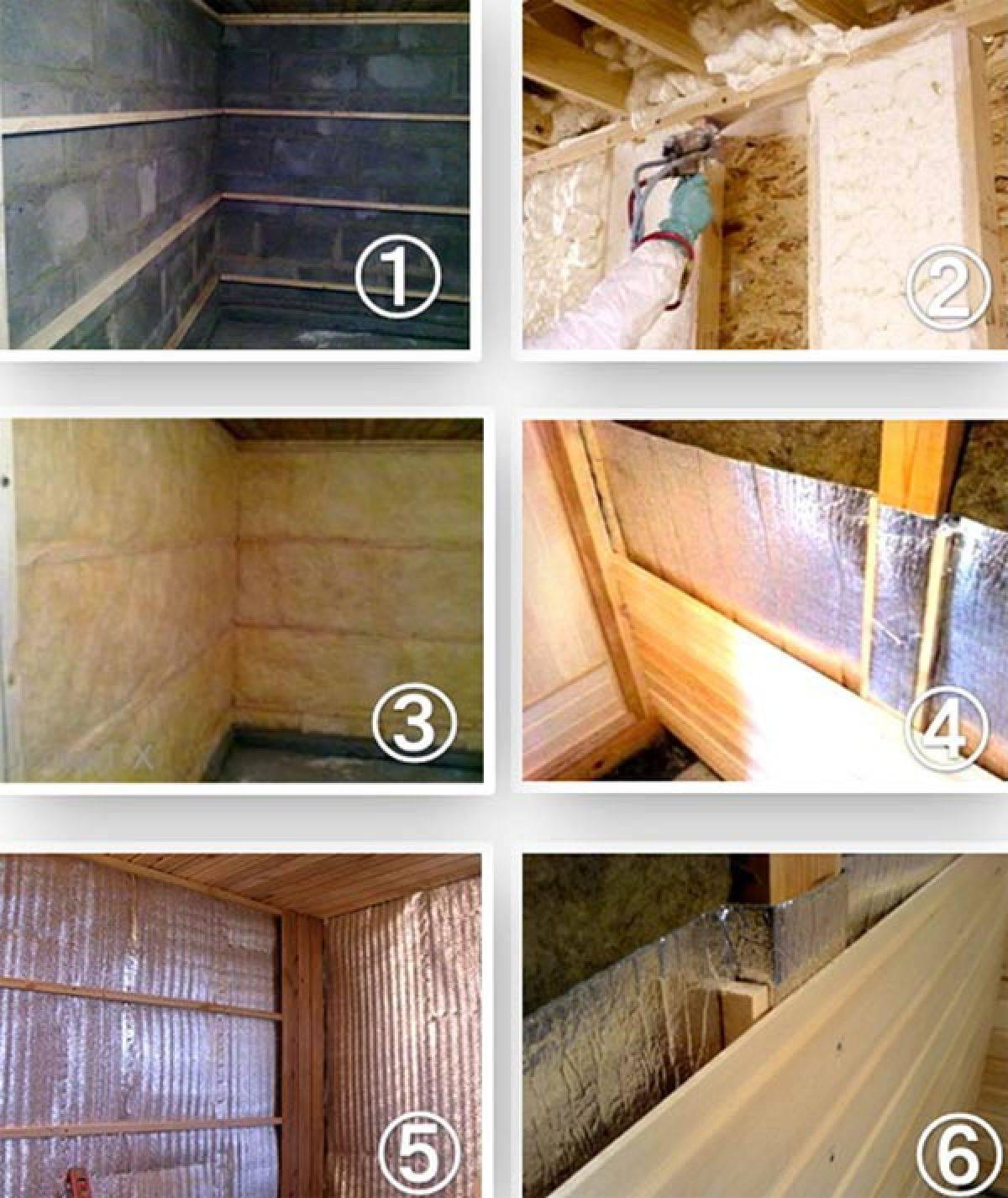 Как утеплить баню изнутри своими руками - пошаговая инструкция с фото и видео