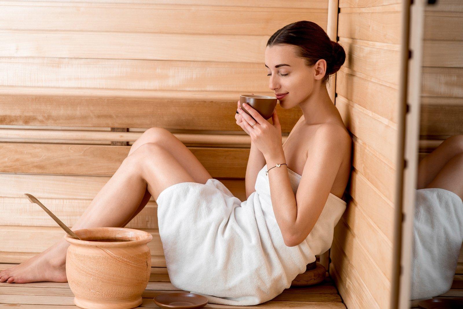 Что лучше пить в бане