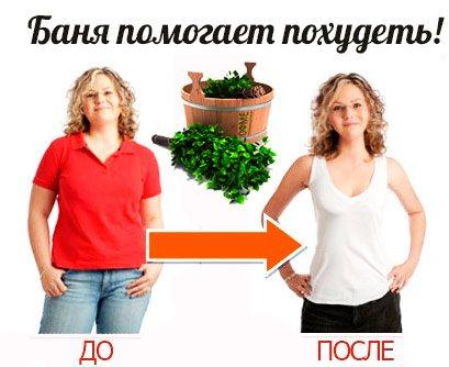 Баня для похудения, отзывы и результат похудения в русской бане — evehealth