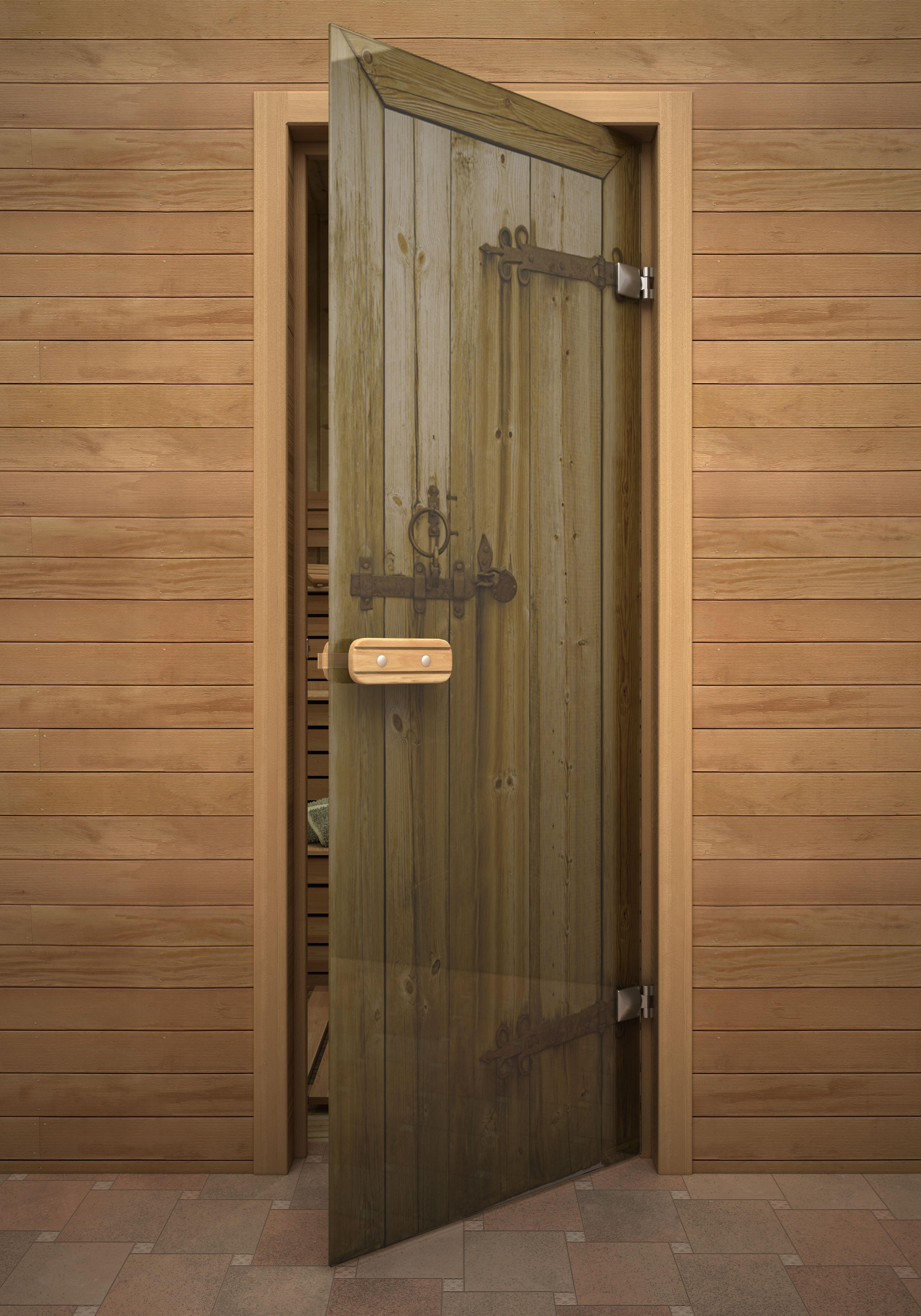 Размер двери в парилку, в том числе с коробкой вместе