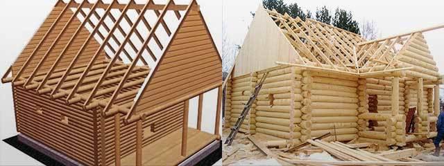 Крыша для бани своими руками - популярные варианты