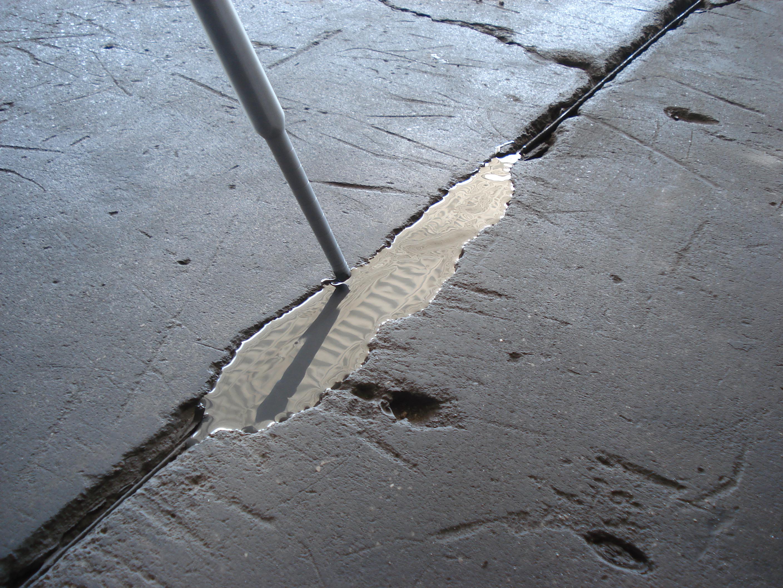 Ремонт бетонных полов и чем заделать дыры в бетонном полу