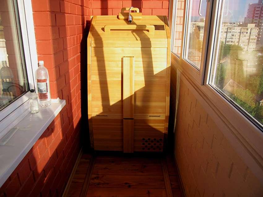 Сауна в квартире (65 фото): инфракрасный домашний мини-вариант, сауна-кабина для дома в ванной комнате, проекты