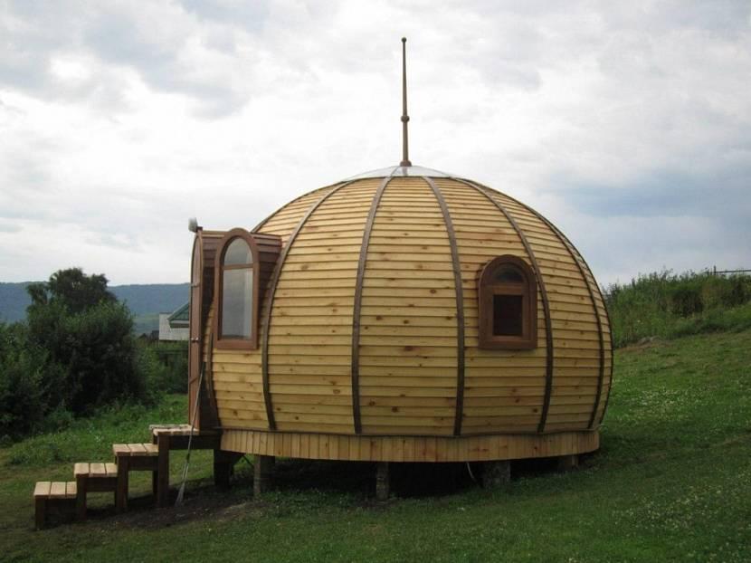 Купольная баня своими руками - огород, сад, балкон - медиаплатформа миртесен
