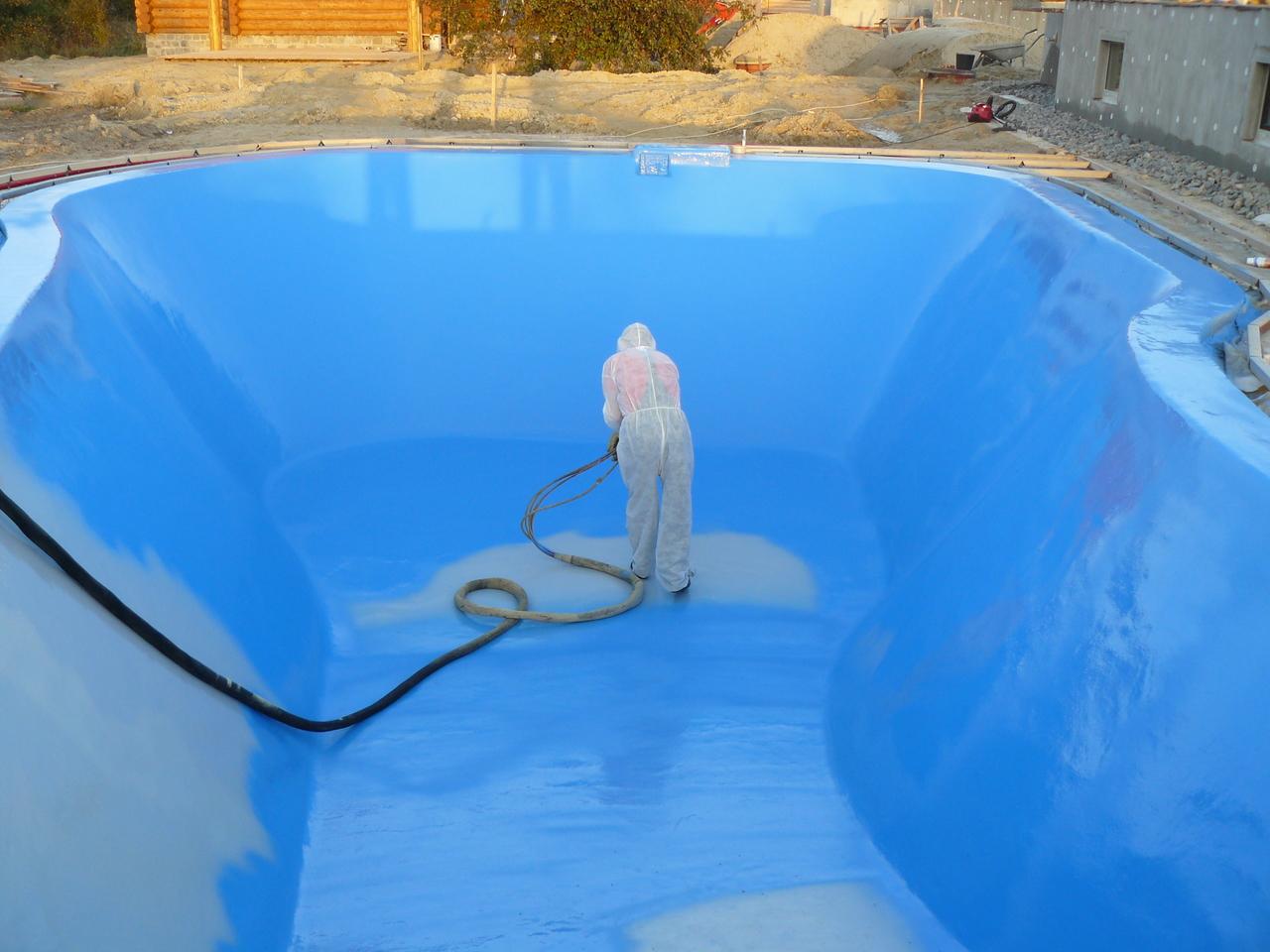 Гидроизоляция бассейнов под плитку: технология