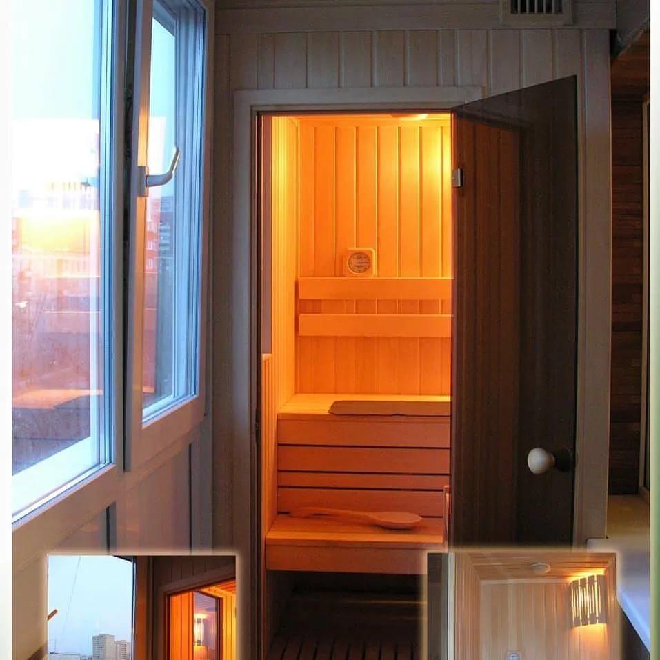 Обустройство сауны на балконе или лоджии своими руками - самстрой - строительство, дизайн, архитектура.
