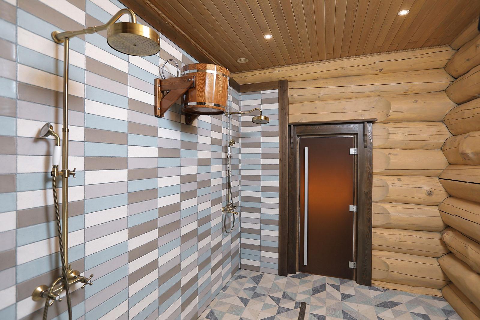 Моечная и помывочная в бане: отделка, дизайн и интерьер (+фото)