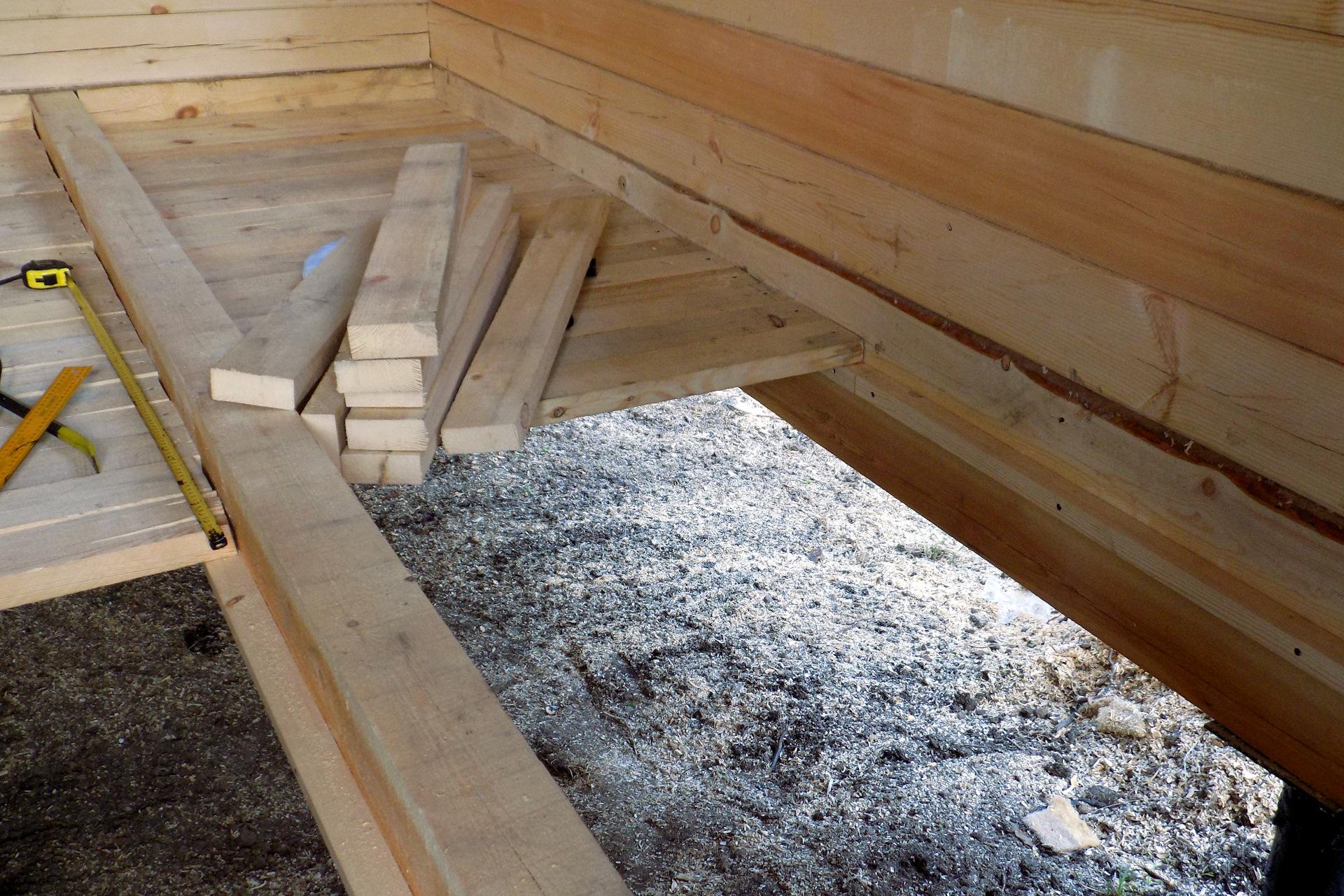 Устройство пола в деревянном доме: инструкция