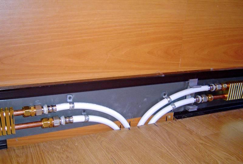 Теплый плинтус водяной: плинтусное отопление своими руками, греющий обогреватель электрического типа