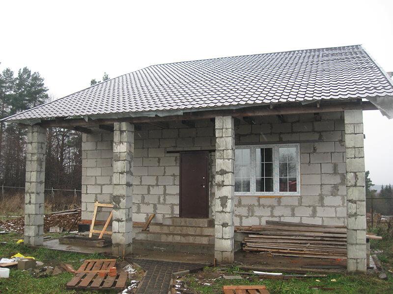 Баня из газобетона: постройка своими руками | построить баню ру