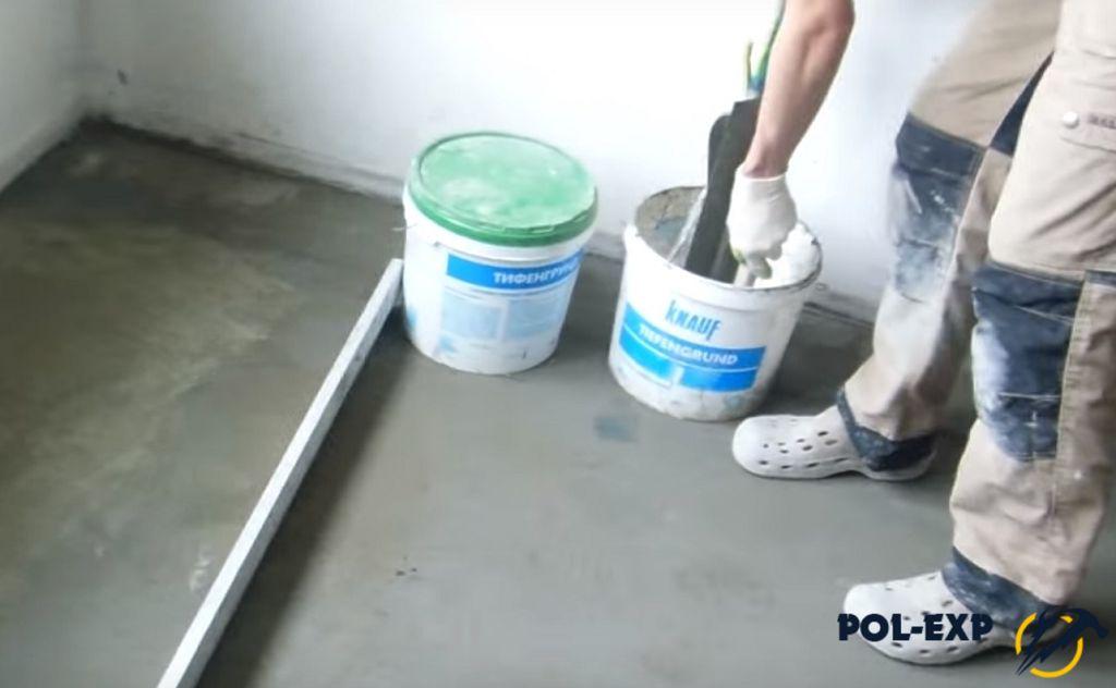 Как железнить бетон: особенности железнения бетонных полов в гараже