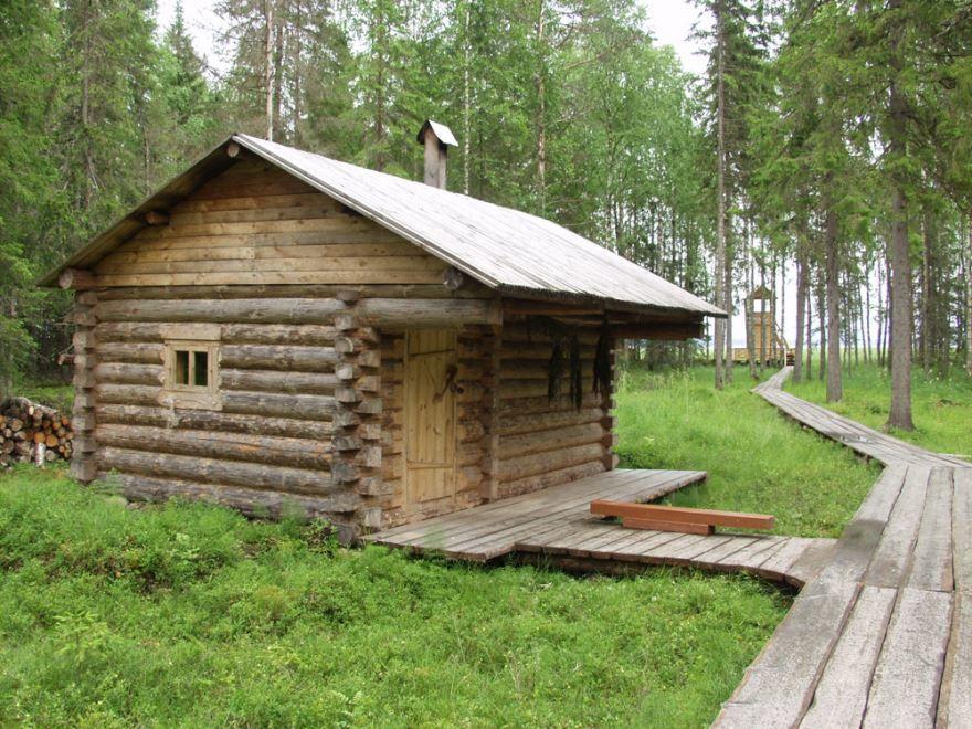 Деревенские бани своими руками - строим баню или сауну