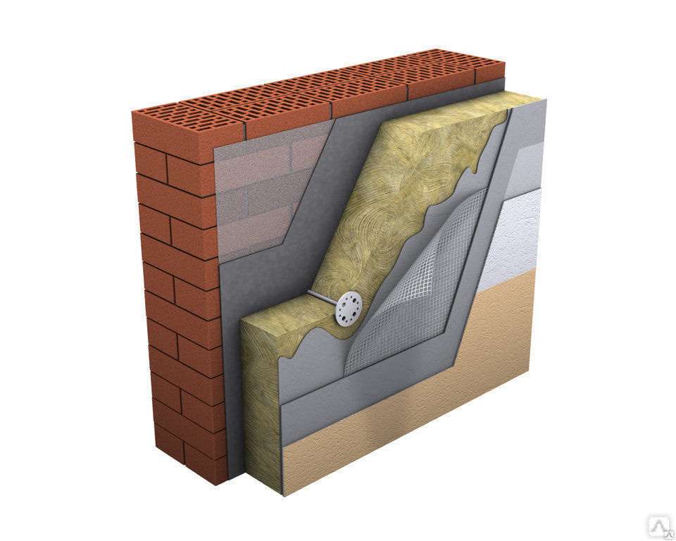 Что такое мокрый фасад? технология монтажа.